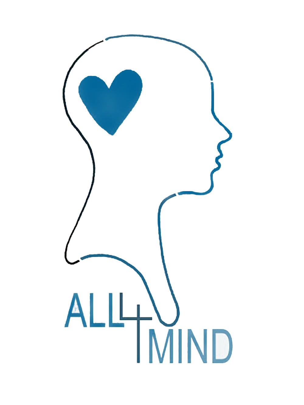 het logo van de website all4mind